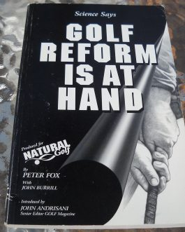 Golf Reform Is At Hand